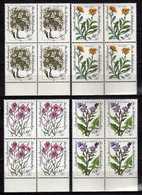 Germany - 1983 Charity Stamps - Alpine Flowers.4 X Stamps. MNH - [7] République Fédérale