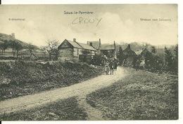 02 - CROUY / SOUS LA PERRIERE - CARTE POSTALE ALLEMANDE - France