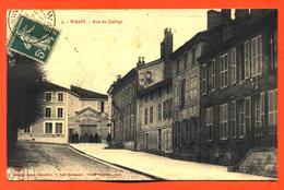 "CPA 52 Wassy "" Rue Du Collège "" - Wassy"