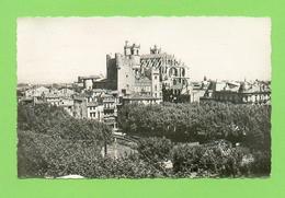 CPSM PM FRANCE 11  ~  NARBONNE  ~  109  Ensemble Hôtel De Ville Et Basilique Saint-Just  ( Narbo Dentelée 1956 ) - Narbonne