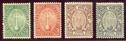 1933- VATICANO - ANNO SANTO - 4 VAL.  M.N.H. LUXE !! - Neufs