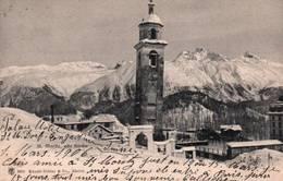 CPA - St MORITZ - Vue De La Ville ... Kirche - GR Grisons