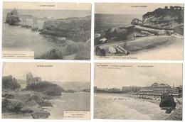 Lot De 4 Cartes De Biarritz  (64) - Biarritz