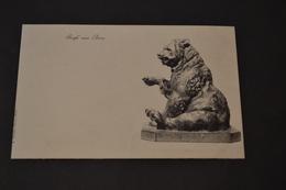 Carte Postale 1910  Suisse Bern Ours De Berne - BE Berne