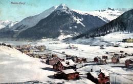 CPA - DAVOS - Vue De La Ville ... - GR Grisons