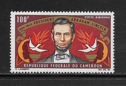 CAMEROUN  ( AFCA - 54 )  1965  N° YVERT ET TELLIER  POSTE AERIENNE N° 64   N** - Kamerun (1960-...)