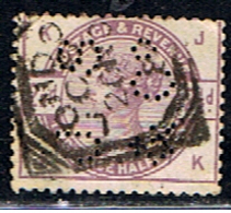 GRANDE-BRETAGNE 99 // YVERT 79 // 1883-84 - Grossbritannien