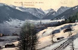 CPA - DAVOS - Vue De La Ville ... Tinzenhorn U Piz Michel - GR Grisons