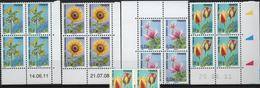 FR/Préo 39 - FRANCE Lot De 12 Blocs De 4 Bdf Dont Coins Datés Neufs** - 1989-....