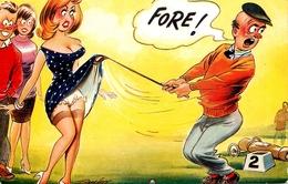 "Thème GOLF - Illustrateur Taylor - "" Fore ! "" - Golfeur Sport - Golf"