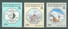 South Georgia: 1987   30th Anniv Of International Geophysical Year     MNH - South Georgia