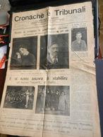 6c) CRONACHE E TRIBUNALI SUPPLEMENTO DE IL PICCOLO DI TORINO DELITTO PSEUDO FASCISTA AVVELENAMENTO GAIONI ECC 21 APRILE - Livres, BD, Revues