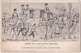 P. MEJANEL. Scènes De La Révolution Française. La Famille Royale Ramenée à Paris - Illustrateurs & Photographes