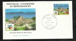 N.C.   Lettre Premier Jour Mont D'Or Le 23/05/1987 N° 537  Mairie Et Blason Du Mont D'Or   Dauphins TB Soldé  ! ! ! - Enveloppes