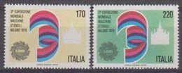 Italy 1979  Exp. Mondiale Macchine  Utensili 2v ** Mnh (42488A) - 1946-.. Republiek