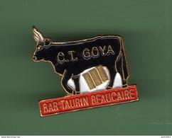 TAUREAU *** BEAUCAIRE *** BAR TAURIN *** C.T. GOYA *** 0056 - Animals