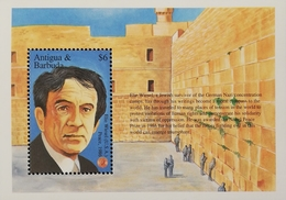 Antigua 1995 Establisfment Of Nobel Prize Fund, Cent. S/S - West Indies