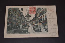Carte Postale 1910  Suisse Berne Zeitglockenturm Grus Aus Bern Cachet Affranchissement Au Verso - BE Berne