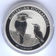 Australien 1 AUD Kookaburra 1 Unze Silber 2017 - Monnaie Décimale (1966-...)