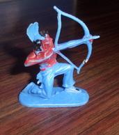 Figurine Plastique Vintage INDIEN - W. Germany - Unclassified