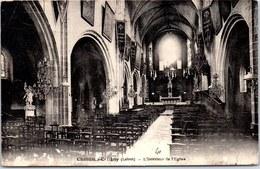 45 CHATILLON COLIGNY - L'intérieur De L'église - - Chatillon Coligny