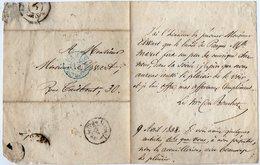 VP14.826 - PARIS 1838 - LAS - Lettre Autographe Mr Le Marquis Du BOUCHET à Mr ELWART ( Artiste ) - Autographes