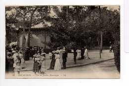 - CPA ARCACHON (33) - Vue Au Jardin Mauresque 1914 (belle Animation) - Editions Lévy N° 58 - - Arcachon