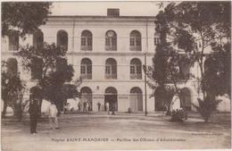 CARTE POSTALE   Hôpital De SAINT MANDRIER 83  Pavillon Des Officiers D'administration - Saint-Mandrier-sur-Mer