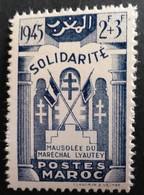 Marruecos: Año. 1946 Protectorado Frances.  Solidaridad A ( Casa Blanca ). - Maroc (1956-...)