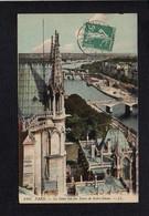75 Paris / Notre Dame / La Seine Vue Des Tours De  .... - Notre Dame De Paris