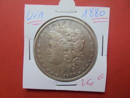 U.S.A 1$ 1880 ARGENT - 1878-1921: Morgan