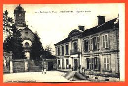 "CPA 52 Brousseval "" église Et Mairie "" - Altri Comuni"