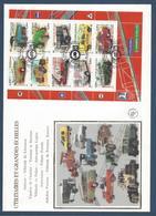 France FDC - Premier Jour - YT Bloc N° 63 - Grand Format - Collection De Jeunesse Véhicule Utilitaire - 2003 - FDC