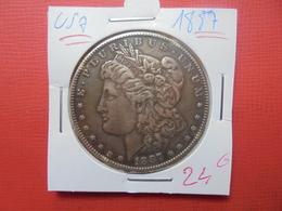 U.S.A 1$ 1887 SUPERBE PATINE !!! - 1878-1921: Morgan