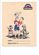 PROTEGE-CAHIER BONBONS KREMA - Book Covers