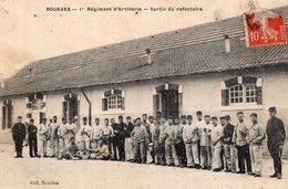 S1741 Cpa 18 Bourges - Régiment D'Artillerie, Sortie Du Réfectoire - Bourges