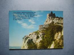 Château De CRUSSOL   -  07  - Les Ruines Impresionnantes    -   ARDECHE - France