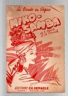 Partition Miko-Samba La Danse En Vogue De E. Basile Et Ch. Demaele - Partitions Musicales Anciennes