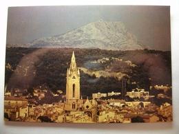 Carte Postale Aix En Provence (13) Clocher De L'Eglise Saint Jean De Malte ( Format Moderne Couleur Non Circulée ) - Aix En Provence