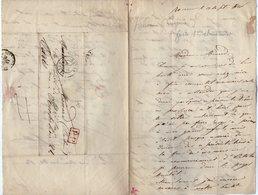 VP14.827 - ROUEN 1846 - LAS - Lettre Autographe Eugénie JULIENNE ( Opéra Chanteuse ) à Mr MENARD Costumier De Théatre - Autographes