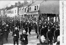 S1747 Cpa 18 Bourges - Obsèques Des Victimes ( Explosion Du 2 Nov. 1907 - Bourges