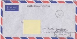 Falkland Islands 2001 Cover Ca  Stanely 9 Mr 01 Ca Philatelic Bureau (F7737) - Falklandeilanden