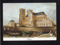75 Paris / Cathédrale Notre Dame Au Temps Jadis - Notre Dame De Paris