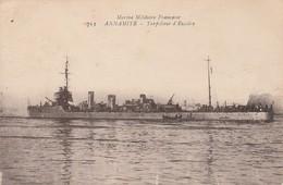 Bateaux De Guerre : ANNAMITE : Torpilleur D'escadre - Guerre