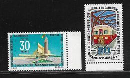 CAMEROUN  ( AFCA - 96 )  1969  N° YVERT ET TELLIER   N° 477/478   N** - Cameroun (1960-...)