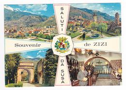 Vers Torino Saluti Da Susa Chez ZIZI Dégustation Gratuite Meilleurs Apéritifs D'Italie Citta Del Cordial Susa Piémonte - Sin Clasificación