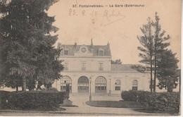 77 - FONTAINEBLEAU - La Gare (Extérieure) - Fontainebleau