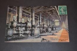 Carte Postale 1911 Suisse Genève Intérieur De L'usine Des Forces Motrices - GE Genève