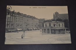 Carte Postale 1910 Suisse Genève Place Cornavin - GE Ginevra