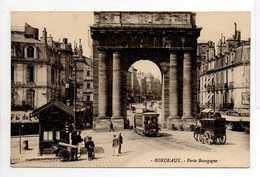 - CPA BORDEAUX (33) - Porte Bourgogne 1912 (belle Animation) - - Bordeaux